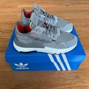 Adidas Nite Jogger Grey / White Shoes
